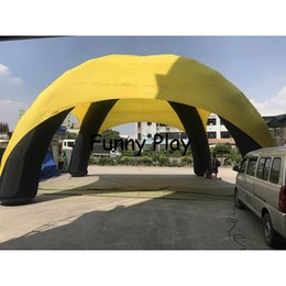 tent walls NZ - inflatable spider tent dome shaped inflatable car tent garage with walls for sale advertising promotion events