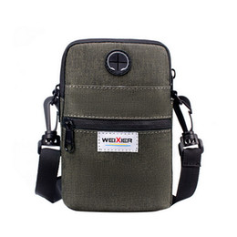 cell phone drop shipping UK - Cyber Monday drop shipping 2020 new Men's Cell Phone Bag Travel Purse Phone Pouch Casual Outdoor Crossbody Shoulder