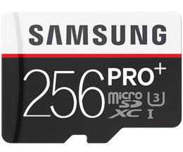 32GB 64GB 128GB 256GB Samsung PRO+ micro sd card Class10 Tablet PC TF card C10 camera memory card SDXC card 90MB S on Sale