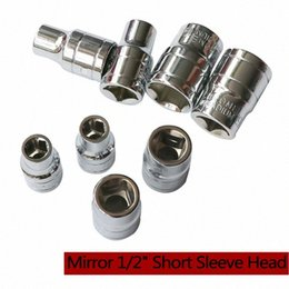 hexagon sockets NZ - Double End 14mm-24mm Inner Hexagon Wrench Ratchet Socket Wrench Head Sleeve Mini Short Dismountable Torque Q1fu#