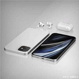 Toptan satış Goophone 12 Pro Max Face ID Kablosuz 6.7 inç Bütün Ekran göster 256GB 512GB Octa Çekirdek 4G LTE 5G cep telefonu durumda Android telefon Şarj