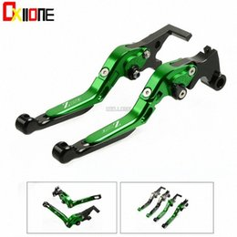 braking levers NZ - With Motorcycle Accessories CNC Adjustable Folding Extendable Brake Clutch Levers Set For Z750 Z 750 2007-2012 UtG0#
