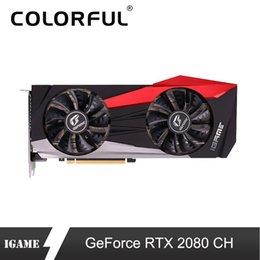 hdmi gpu Canada - Colorful iGame GeForce RTX 2080 CH Graphic Card INVIDIA GPU GDDR6 8G 256 Bit Video Cards For USB PCI-E Gaming Computer