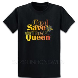 vintage honey Australia - God Save The Queen Cute Beekeeper Honey Bee T Shirt Clothing Short Sleeve Summer Loose Casual Personalized O-Neck Vintage Shirt