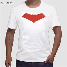 t shirts hoods men Australia - Fashion Novelty Red Hood Jason Todd Comics Superhero T Shirt Mans Cotton Fashion Short Sleeve Tee Tops Clothes Euro Size