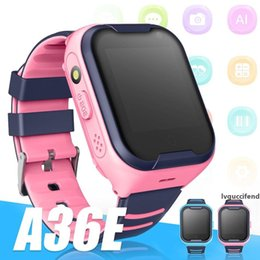 kids gps smartwatches Canada - A36E Children Smart Watch 4G Net Wireless WIFI Tracker Camera Video Call Watch Baby Smartwatches with GPS Monitor Watch with Retail Box