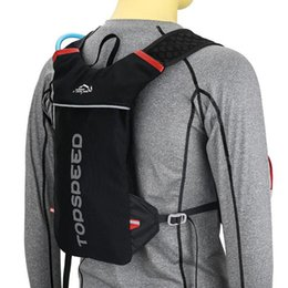 bicycle rucksacks UK - Running Bag Bicycle Backpack Cycling Run Bag Rucksack Hydration Men Sport Bags Light Waterproof Riding Bike Back Pack,T-8051