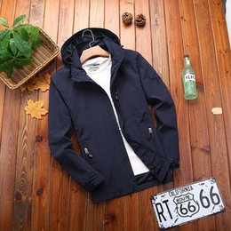 Wholesale jeep jackets coats for sale – winter l0Ne2 Jeep shield coat men s autumn charge Jacket outdoor sports top loose casual all match waterproof windbreaker plus velvet outdoor sport