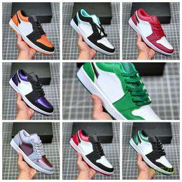 NJ01LA 2020 Jumpman 1 1s High OG Travis Scotts Game Royal UNC Basketball Shoes Mens Shattered Backboard 3.0 designer sports sneakers 36-45 on Sale
