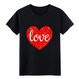 sparkly t shirts NZ - VALENTINE LOVE SPARKLY HEART ADULT RAGLAN SHIRT t shirt Custom Short Sleeve Euro Size S-3xl Kawaii Graphic Funny cool shirt