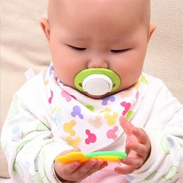 milk feeders Australia - Safe Grade Silicone Cute Round And Flat Nipples Baby Pacifiers Baby Milk Feeder Nipple Pacifiers a3kv#