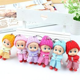 interactive toys for boys Australia - Wholesale- 2017 NEW Kids Toys Soft Interactive Baby Dolls Toy Mini Doll For girls and boys 6pcs set