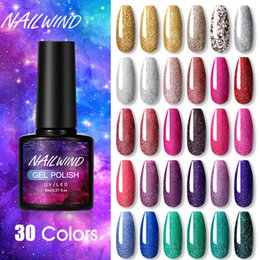 browning nail art UK - Nailwind Gel Nail Polish Rainbow Manicure Art For Hybrid Varnish Poly Extension Base Top Coat UV Permanent Nail Lacquer