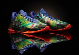 venda por atacado Mamba Mamba 5 Protro Eybl Sapatos para venda com caixa com a alta qualidade Mamba v Men Tênis de basquete Store US7-US12
