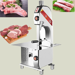 electric meat cutter NZ - HR-250 High-quality commercial electric stainless steel bone saw machine for cutting bone fish meat pig trotters ribs bone cutter 1500W