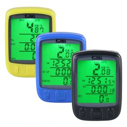 wireless bicycle UK - sunding Shundong 563A 563C Luminous bicycle bicycle code meter Chinese and English Wired Wireless luminous mileage speed meter