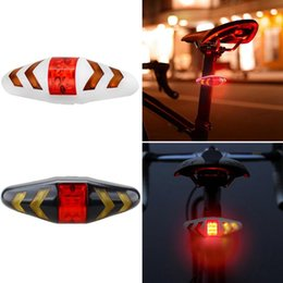 wireless turn signal lights NZ - ELOS-Bicycle Turn Signal Wireless Remote Mountain Bike Taillights Cycling Lights Flashing Headlights Black