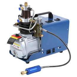 110v 220v 30Mpa 4500psi alta pressione compressore d'aria pompa di aria elettrica per pneumatica Airgun Scuba fucile PCP Inflator in Offerta