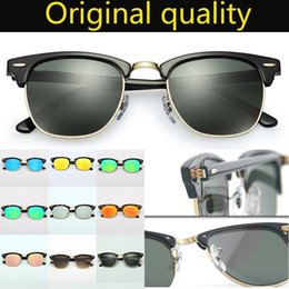 red frame glasses black lenses Canada - Designer Club Sunglasses Real Top Quality Oclos Real Plank Acetate Frame Uv400 Sun Glass Lenses Sun Glasses Includes Accessories