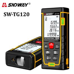 tool finder NZ - SNDWAY laser distance meter 40M 60M 80M 100M laser range finder rangefinder tape measure build device roulette trena ruler tools T200603