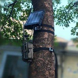 Panneau Cameras Chargeur Solaire pour la chasse Appareils photo 4G solaire Power Panel pour la chasse 4G Caméra Moultrie Trail Caméra yhEI # en Solde