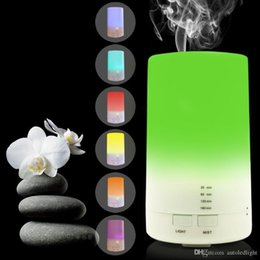 portable air cooler for car NZ - USB Aromatherapy Essential Oil Diffuser - 2.3 oz (70ml) Car Portable Mini Ultrasonic Cool Mist Aroma Air Humidifier for Office Desk Home.