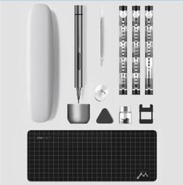 Xiaomi youpin Wowstick 1F plus Mini portable sans fil tournevis électrique de précision magnétique visseuse Jeu d'outils universel multi Bits en Solde