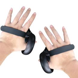/ AR Lunettes VR / AR Lunettes Accessoires 2020 Grip pour nouveau clavier de commande Oculus Quête / Rift S VR tactile Touch contrôleur Grip réglable en Solde