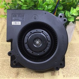 Discount dc centrifugal fan High-volume barbecue oven fan DC centrifugal car cold air cushion air 12cm 12V super turbine blower dobW#