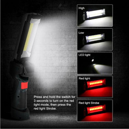 household bulbs NZ - 360 Rotation LED Waterproof Light USB Rechargeable Work Light household accessories 2020 new arrivals best selling