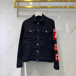 Wholesale demin jackets for sale - Group buy 2020 fall and winter new fashion mens designer tongue demin jacket CHINESE SIZE jackets designer good quality demin jacket for men