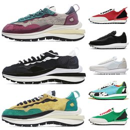 running shoes run Canada - 2020 Top fashion Pegasus x ld waffle ldv women mens running shoes Neptune Green Purple Black Nylon Chunky Dunky Daybreak trainers sneakers