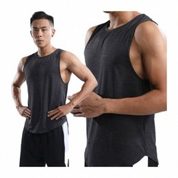 sport traning UK - Mens Polyester Vest 2020 Quick dry Sleeves Traning Running Sports Bicycle Cycling Tank Sports Man Breathable Top 1bds#