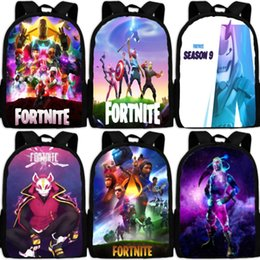 patchwork pocket tees Australia - Print Women Backpack Students School Case fortress night for Bags Girls fortnite Bogs School Backpack Cartoon Book Bags with Pencil Tee tM3Wa