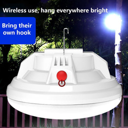 tent lighting night Australia - LED Camping Light Portable Lanterns Outdoor Tent Lamp USB Rechargeable Bulb Emergency Lights For BBQ Hiking Night Market