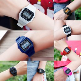 boys watch new style UK - TGPLL Sanda New electron electron Square Electronic watch waterproof sports Korean style simple leisure small dial watch for male and female