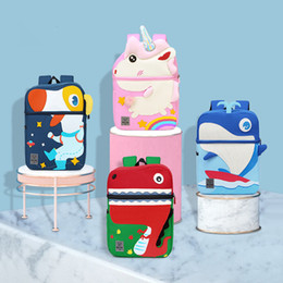 cute backpacks for high school NZ - Edison High-Quality Children School Bag Cute Cartoon Dinosaur Kids Backpack Kindergarten Bags for Boys Girls Baby School Bags