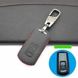 car key case protector NZ - 2 Buttons Key Leather Motorcycle Key Case Cover Holder Protector For Vario X PXC 2018 Lead Sh125 150 Motor Replacement Car Keys Replac Gasi#