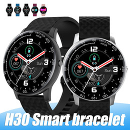new u8 bluetooth smart watch Australia - New Smart Watch H30 Bluetooth HD Full Screen Smartwatch With Pedometer Camera Mic Compaitable Android PK DZ09 U8 with Retail Box
