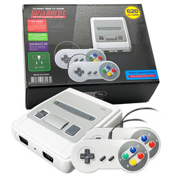Mini AV Can Store 620 Game Console Video Handheld for SFC SNES Games Consoles With Retail Boxs on Sale