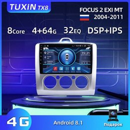 dvd player focus android Canada - TUXIN 9 Car Radio For Focus 2 EXI MT 2004 2006 2008 2010 2011 Android 8.1 Auto Radio Multimedia Player GPS Navigation No DVD Car Dvd C JGf0#