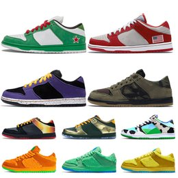 mens leather running shoes Australia - 2020 Sashiko Samba dunks low skateboard women mens running shoes Heineken Nasty Boys ACG Terra fashion Chunky Dunky sports trainers sneakers