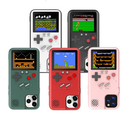 Wholesale kinder game online – design 36 Kinds Games Handheld Retro Game Console With Color Display Gameboy Phone Case For iPhone Xs Max s Plus Samsung S10 Huawei Mate