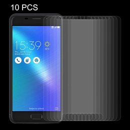 tempered glass screen asus zenfone NZ - 10 PCS for ASUS ZenFone 3s Max   ZC521TL 0.26mm 9H Surface Hardness Explosion-proof Non-full Screen Tempered Glass Screen Film