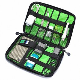 travel flash drive NZ - Electronic Accessories Bag Hard Drive Organizers Earphone Data Cables USB Flash Drives Travel Case Waterproof Carry Storage Bag txQ1#