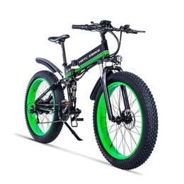 hydraulic bicycle brakes NZ - custom 26inch electric mountain bicycle 48V16AH soft tail bike 1000w rear wheel motor ebike Hydraulic brake EMTB