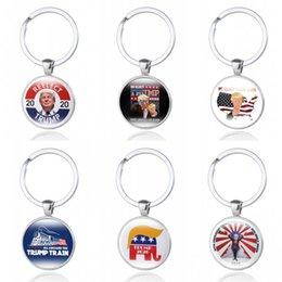 Toptan satış Anahtarlık Araç Anahtarlık Andı Hediye Baskı Başkanı ABD Yaratıcı için 2020 Keep Amerika Büyük Anahtarlık Donald Trump kıç