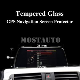 gps for bmw series NZ - Tempered Glass GPS Navigation Screen Protector For BMW 1 Series 2 Series F20 F21 F22 1pcs