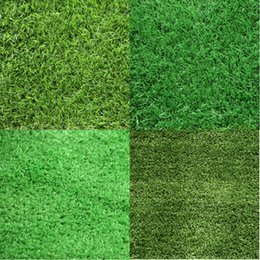 turf flooring NZ - Home Floor Wedding Decoration 100cm*100cm Green Grass Mat Green Artificial Lawns Small Turf Carpets Fake Sod Home Garden Moss DH0441