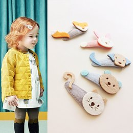 cartoon cat hair accessories Australia - 1 PCS New Creative Lovely Cartoon Cat Bear Baby BB Clips Girls Hairpins Hair Clip Kids Headwear Children Accessories